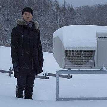 寒冷地エアコン